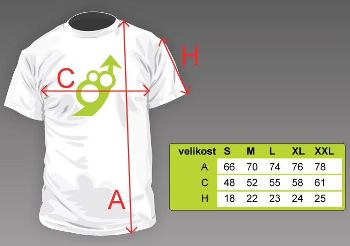 8c45fa2c721 Pánské tričko s vlastním potiskem
